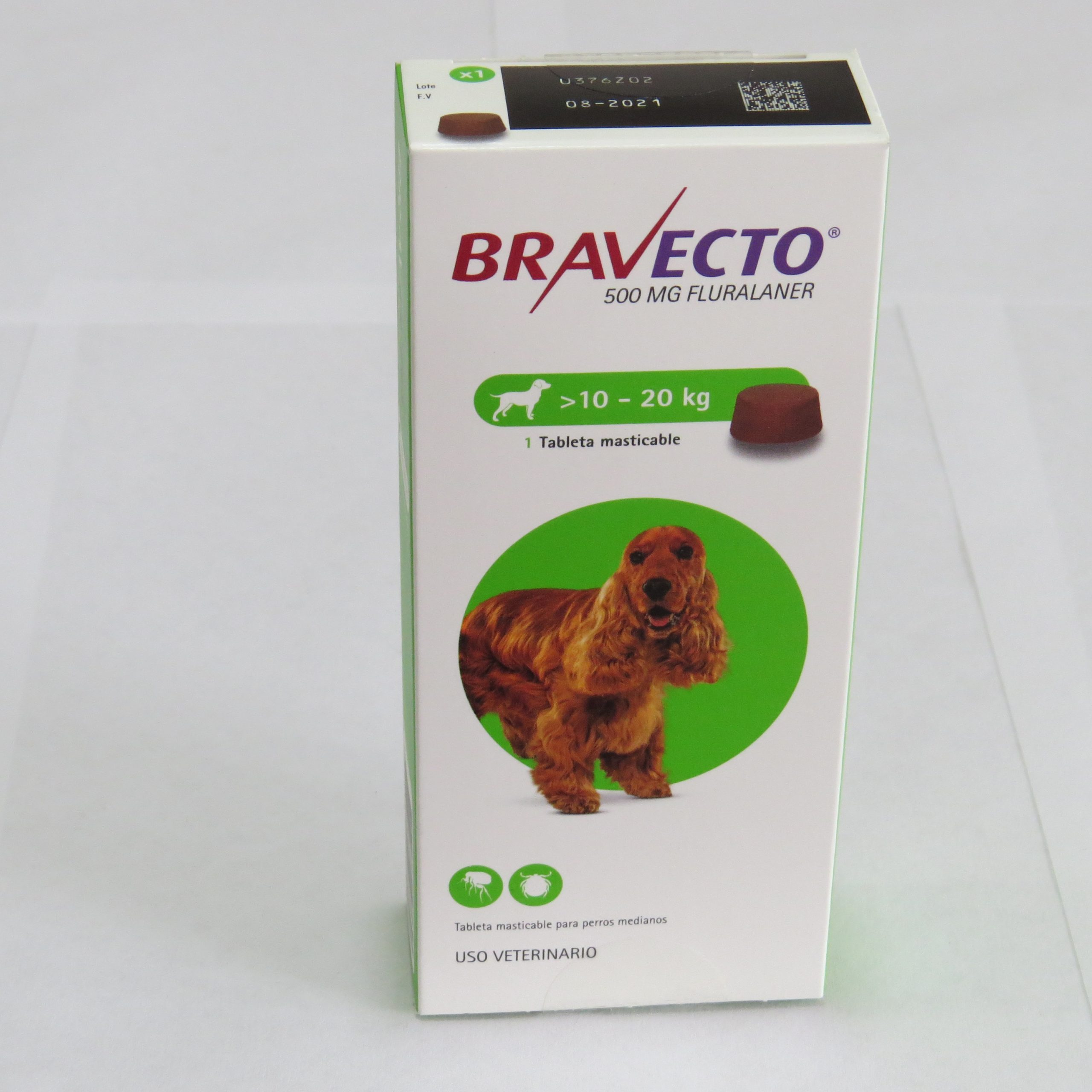 BRAVECTO DE 10 A 20